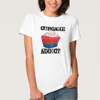 Cupcake Addict T Shirt