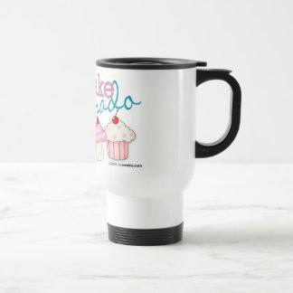 Cupcake Aficionado Stainless Steel Travel Mug