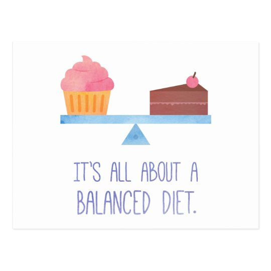 Cupcake All About A Balanced Diet Food Humour