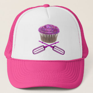 Cupcake and Crossbeaters Trucker Hat