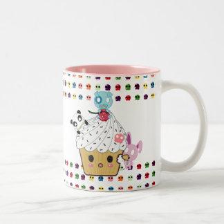 Cupcake Attack! Sugar Skulls Coffee Mugs