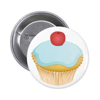 Cupcake 6 Cm Round Badge