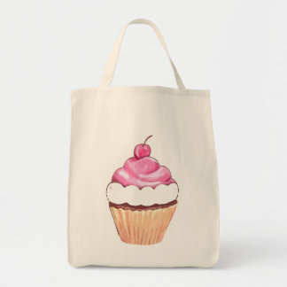 Cupcake Bag  - Cute Shopping Tote.