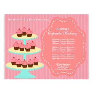 Cupcake Bakery 21.5 Cm X 28 Cm Flyer