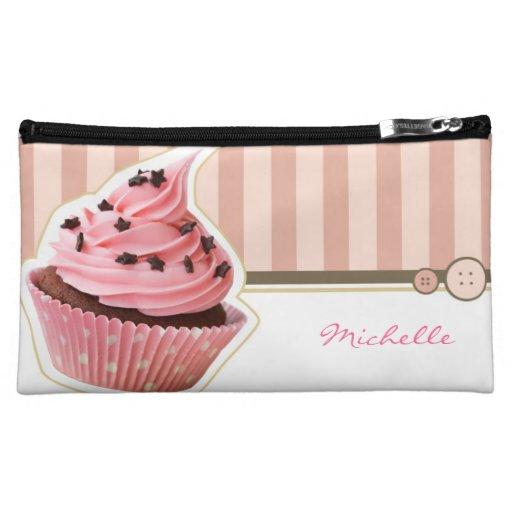 Cupcake Bakery Makeup Bag
