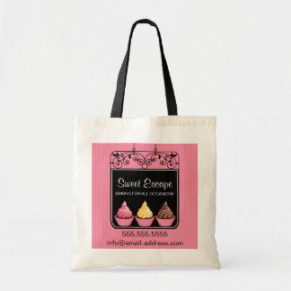 Cupcake Bakery Business Tote Bag