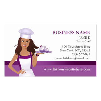 Cupcake Bakery Chic Business Card