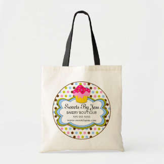 Cupcake Bakery Cloud Personalized Tote Bag