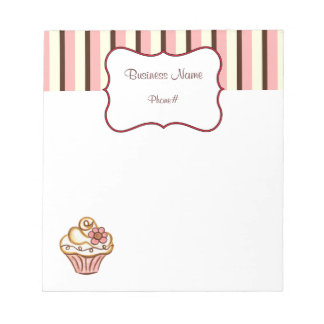 Cupcake Bakery Notepad