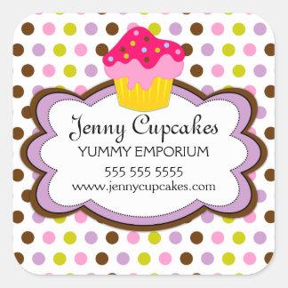 Cupcake Bakery Stickers