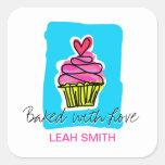 Cupcake Baking Labels