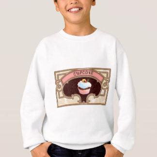 Cupcake Banner Victorian Style Sweatshirt