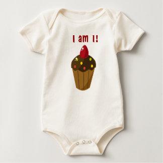 Cupcake Birthday Shirt! Bodysuit