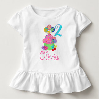 Cupcake Birthday Shirt | Sweet Lollipops