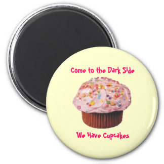 Cupcake Bliss 6 Cm Round Magnet