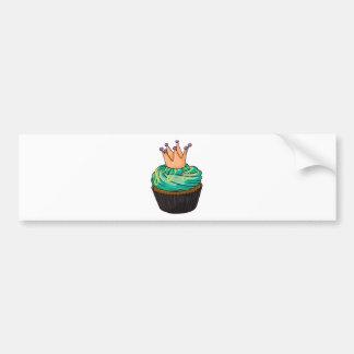 Cupcake Bumper Sticker