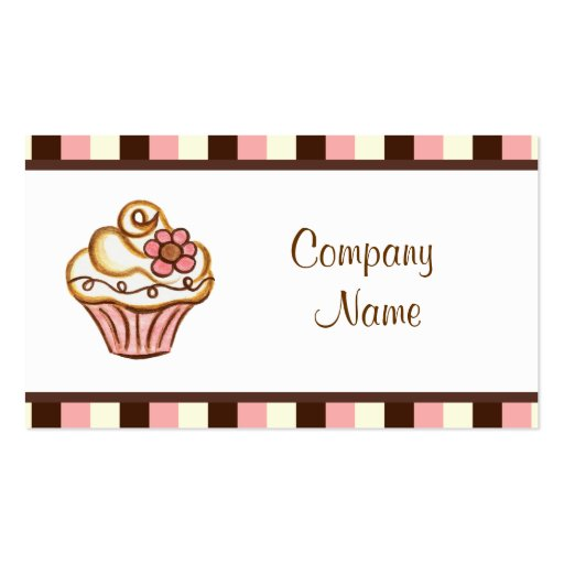 Free Printable Cake Decorating Business Cards