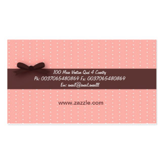 Cupcake business card 1