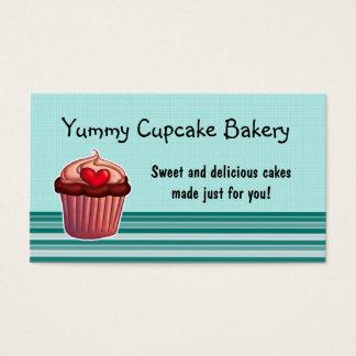 Cupcake business card customisable template