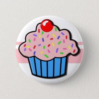 Cupcake button! 6 cm round badge