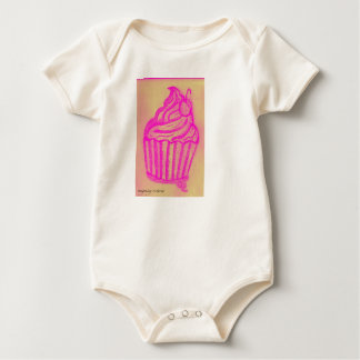 cupcake by imagining victoria baby bodysuit