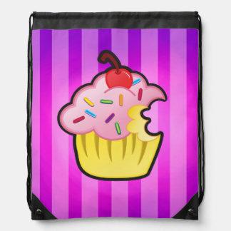 Cupcake cartoon backpack