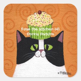 Cupcake Cat Sticker