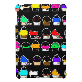 Cupcake Cavalcade – Colorful Repeating Pattern Cover For The iPad Mini