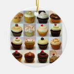 Cupcake Collage Ornament