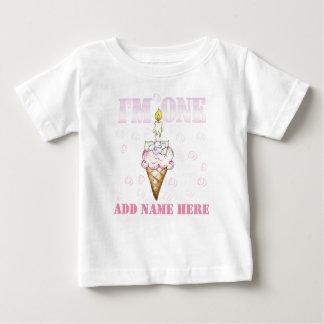 Cupcake Cone I'm One 1st Birthday Tshirt