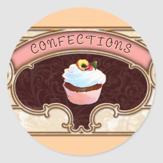 Cupcake Confections Sticker