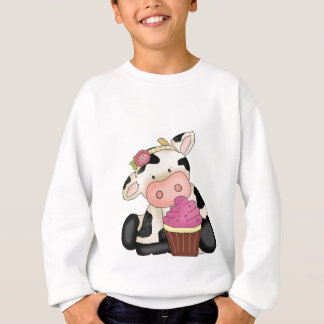 Cupcake Cow kid Sweatshirt