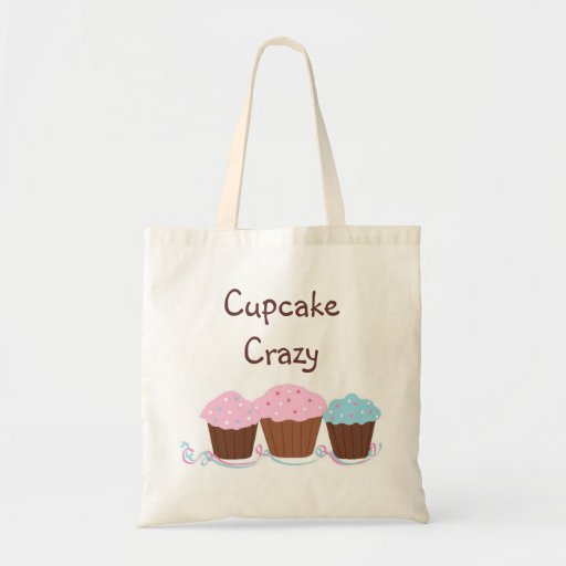 Cupcake Crazy Tote Bags