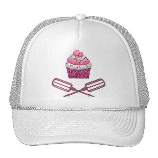 Cupcake & Crossed Beaters In Pink Trucker Hat