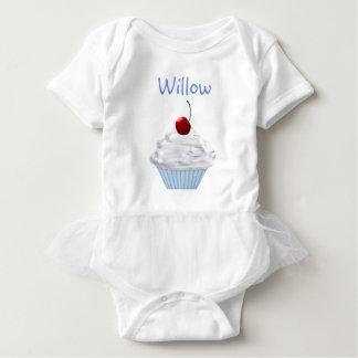 Cupcake Custom Name Tutu Shirt