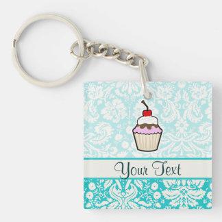 Cupcake; cute key ring