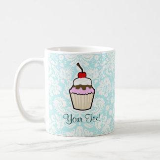 Cupcake; cute basic white mug
