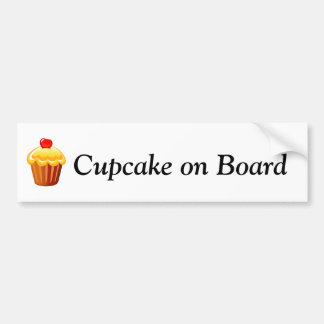 Cupcake Day December 15 Bumper Sticker