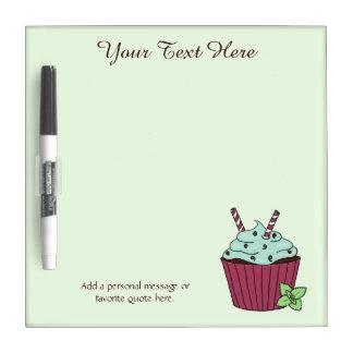 Cupcake Design Dry Erase Board