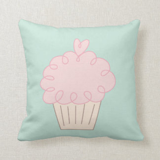 Cupcake doodle cushion
