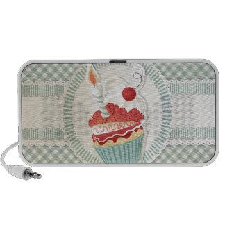Cupcake Doodle Mp3 Speakers