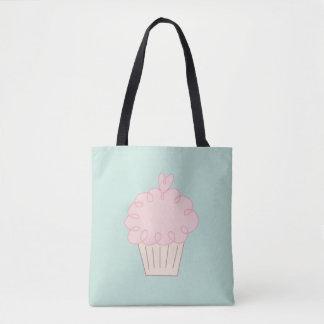 Cupcake doodle tote bag