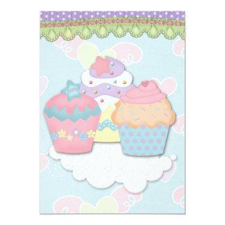 Cupcake Dreams Custom Invitation