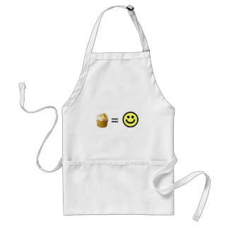 Cupcake Equals Happiness Standard Apron