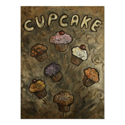 Cupcake Explosion Poster