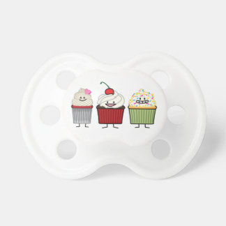 Cupcake family icing sprinkles cherry cakes heart dummy