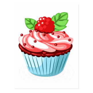Cupcake Fun Postcard