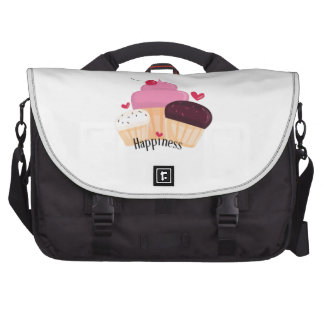 Cupcake Happiness Laptop Commuter Bag