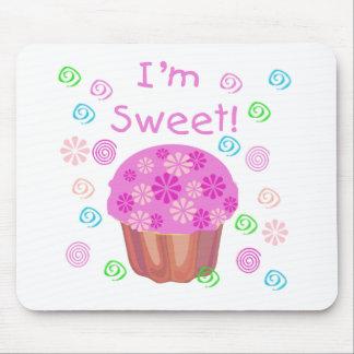 Cupcake I m Sweet Mouse Pad