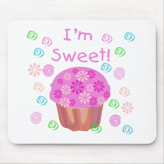 Cupcake I'm Sweet Mouse Pad